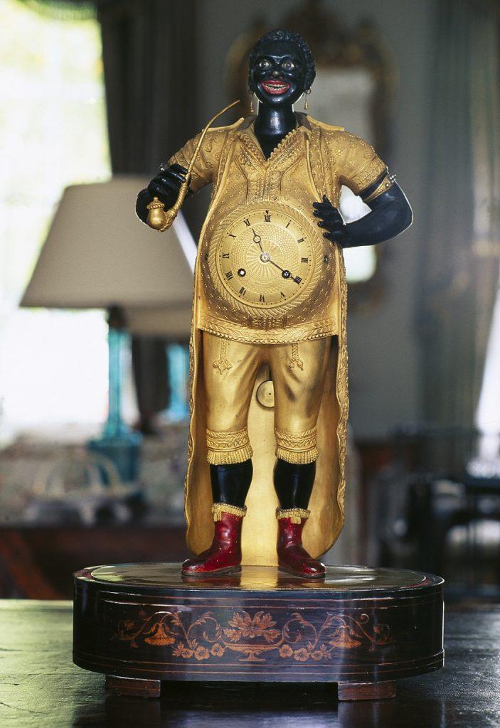 Toussaint Louverture Automaton Clock