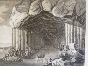Fingal's Cave in Staffa': engraving by Thomas Major