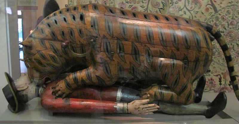 Tippoo Sultan's Tiger Automaton/Statue