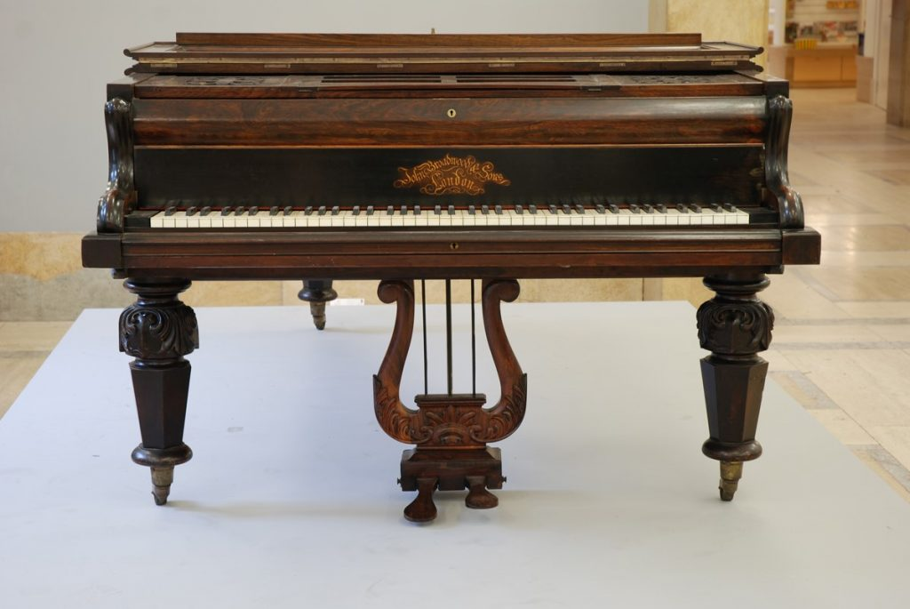 A piano, belonging to George Eliot
