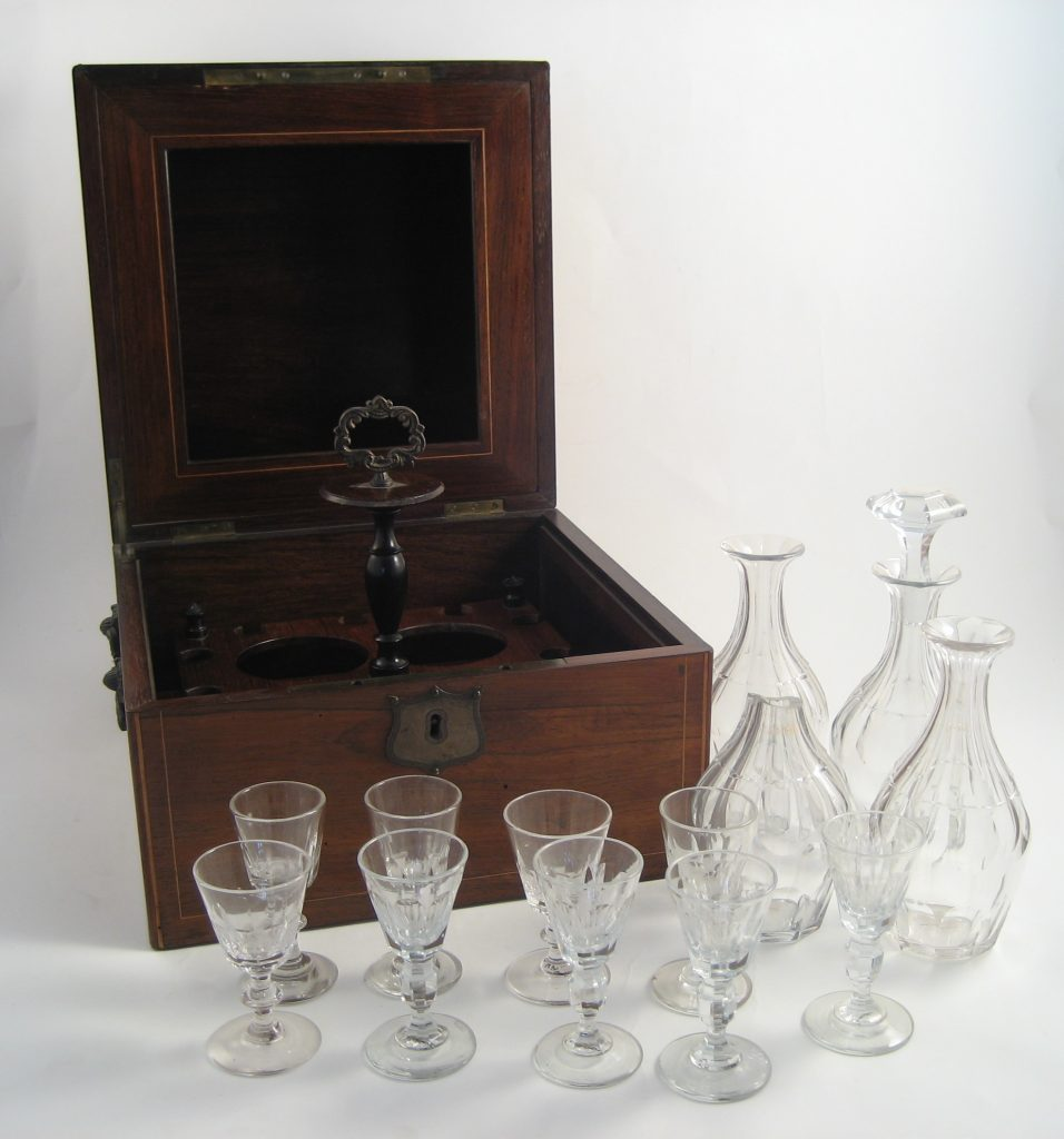 The decanters Samuel Rogers gave to Lord Byron