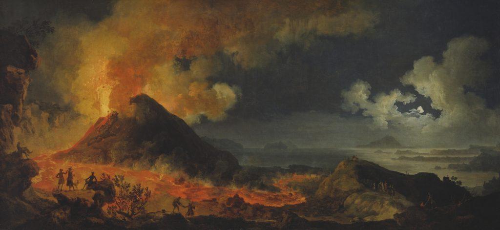 Le Mont Vésuve