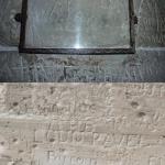 Lord Byrons Autogramm auf Schloss Chillon