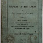 A copy of Wordsworth's Guide to the Lakes, 1822