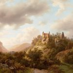 Romantic ruins in a Luxembourg landscape