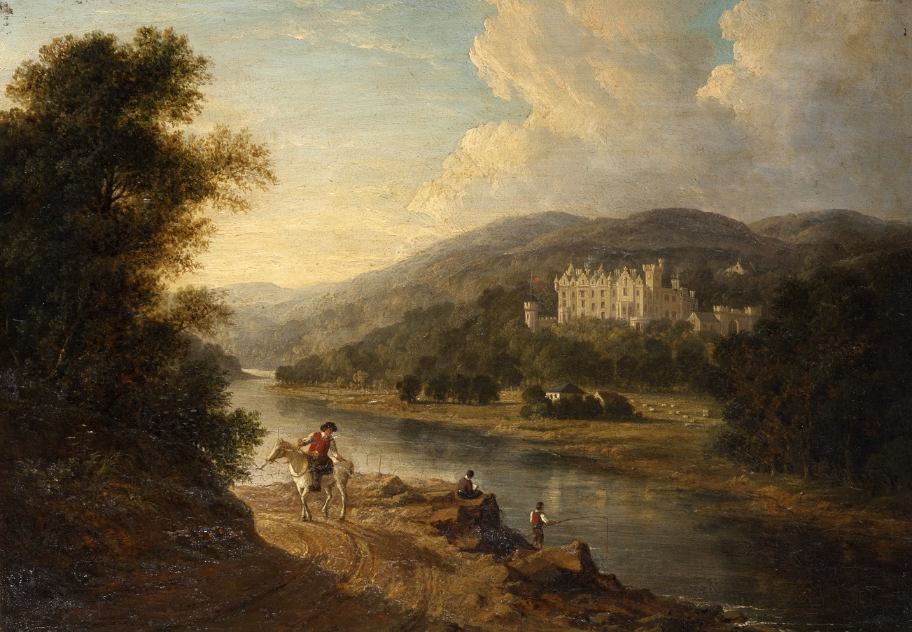 'A View of Abbotsford from across the Tweed'