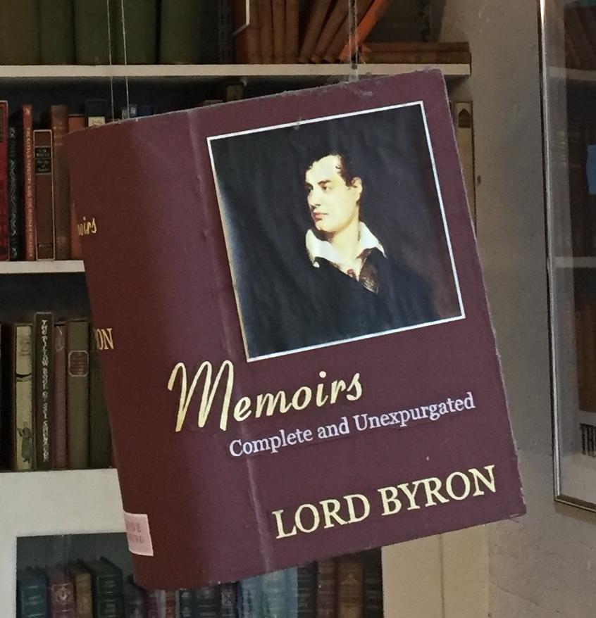 Lord Byron's Memoirs