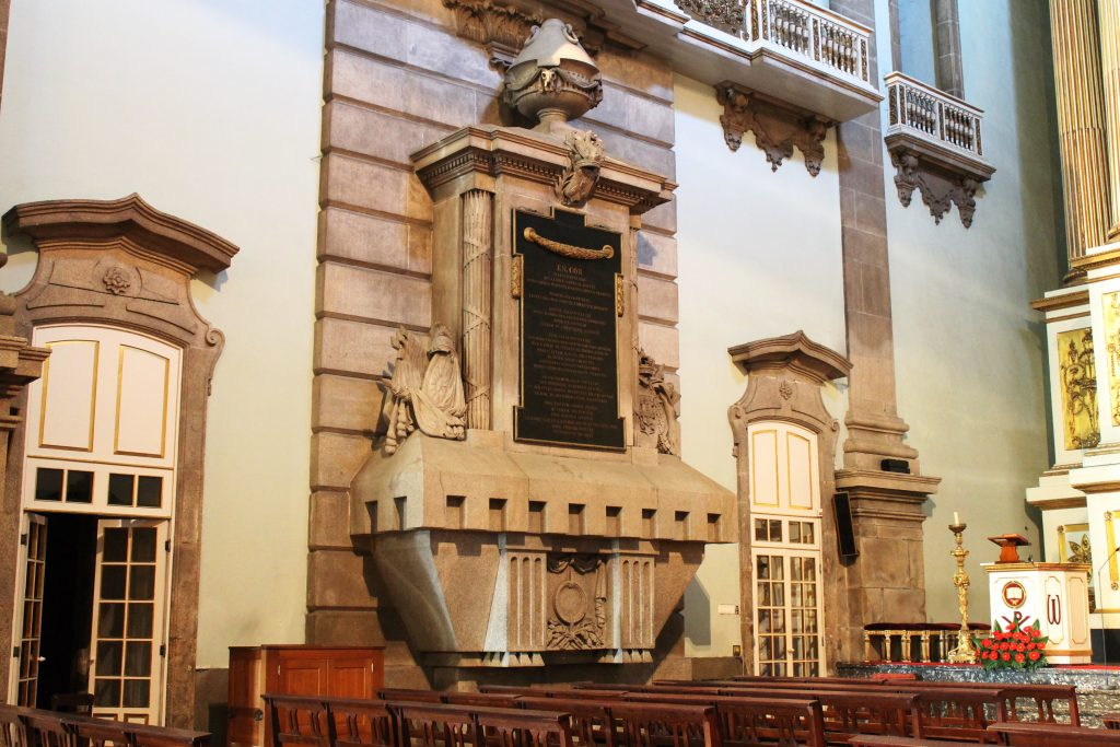 The Mausoleum for the Heart of King Peter IV of Portugal