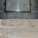 Byron's Autograph at the Castle of Chillon