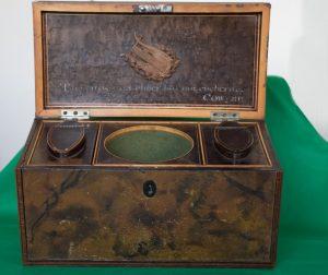 William Hayley's Tribute Tea-Caddy