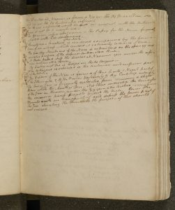 A Page From Keats's Anatomy Notebook