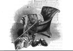 La sedia con braccioli di Sir Walter Scott