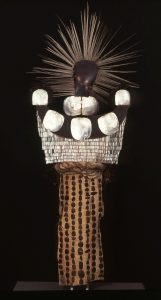 A Mourning Dress brought back from Tahiti by Captain James Cook