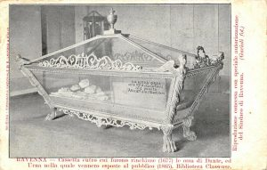 Dante's Bones Rediscovered and Exhibited